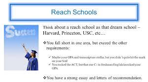 target vs reach vs safety target schools a target school is one 6 reach