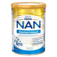 <b>NAN</b>® Безлактозный <b>Сухая</b> безлактозная <b>смесь</b> для детей с ...