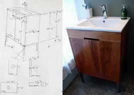 making bathroom cabinets: matts diy master bath vanity project