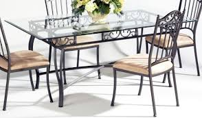 Dining Room Decoration Fresh Flowers Decor For Glass Top Dining Table And Metal