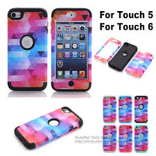 Online Shop Universal Heavy duty hybrid 3 in 1 silicon Case for ipod ...