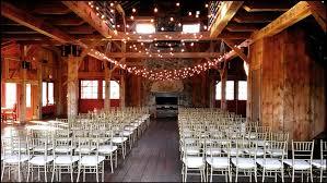 cafe string lights in a barn barn wedding lights