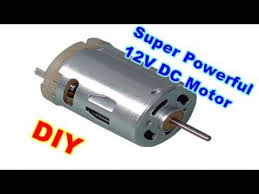 How to get a powerful <b>12V DC motor</b> - YouTube