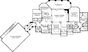 House Plan at FamilyHomePlans comCottage Country European House Plan Level One