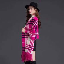 <b>2019 New fashion</b> Women X-Large fine-knit cardigan <b>Tassels</b> Cloak ...
