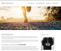 pro site egen hemsida blogg eller cv online epk cv online mall