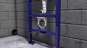 Установка <b>подвесного унитаза</b> на систему <b>инсталляции</b> GROHE ...