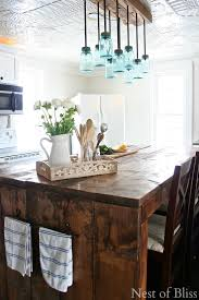 farmhouse kitchen 29 build diy mason jar chandelier