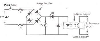 programmable logic controller   plccircuit diagram of plc input module