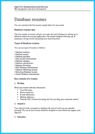 high impact database administrator resume to get noticed easily sql server database administrator resume examples sql server database administrator resume examples