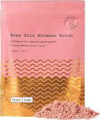 <b>frank body</b> Rose Gold Shimmer Scrub в 2020 г.