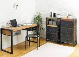 chic home office chic corner office desk oak
