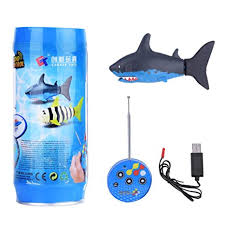 Mini <b>RC Shark Toy</b> Remote Control Fish Boat Kids Fish Toy with ...