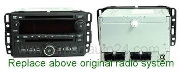 similiar gmc acadia oem radio keywords oem radio cd player moreover navigation radio for 2009 gmc acadia