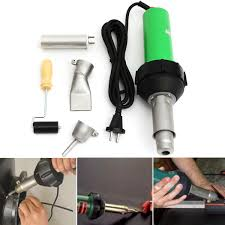 <b>220V</b> 1600W 50Hz Electronic <b>Heat</b> Hot Air Torch Plastic Welding ...