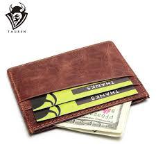 <b>NEW Genuine Leather Magic</b> Wallet Credit Card Wallet Mini Slim ...