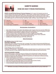 personal trainer resume example   resume examples  resume and    personal trainer resume example