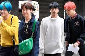 BTS' New York <b>City Street Style</b>: Jimin, V, RM, Jin + J-Hope ...
