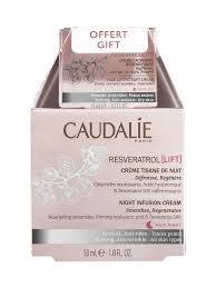 <b>Caudalie Resveratrol</b> [<b>Lift</b>] Night Infusion Cream 50ml + Resveratrol ...
