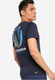 Buy New Balance <b>Graphic Heathertech Tee</b> Online   ZALORA ...