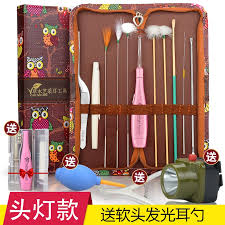 Digging <b>Ear</b> Oracle Professional Picking tool Set goose feather stick ...