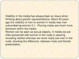 the representations of gender in horror films essay lt br   gt
