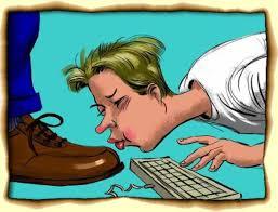 Resultado de imagem para blogueiro lambe botas