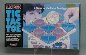 Electronic <b>toy</b> | <b>game</b>:Electronic Tic Tac Toe - Remco Industries Inc ...