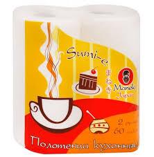 <b>Полотенца Maneki Sumi</b>-<b>e бумажные</b>, кухонные с тиснением 2 ...