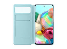 <b>Чехол Samsung S View</b> Wallet Cover A71, чёрный | Online Samsung