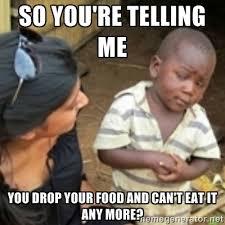 Skeptical african kid | Meme Generator via Relatably.com
