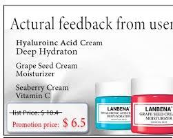<b>LANBENA Whitening</b> Face Cream Hydrolyzed Pearl Anti Wrinkle ...
