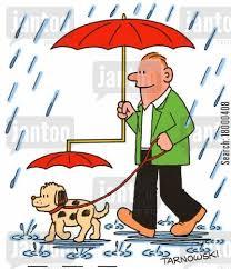 Περπατώντας στη βροχή...