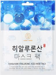 <b>Тканевая маска</b> для лица <b>с гиалуроновой</b> кислотой HANIxHANI ...