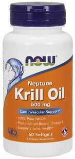 Масло криля, <b>Krill</b> Oil, Now Foods, 500 <b>мг</b>, 60 капсул - в онлайн ...