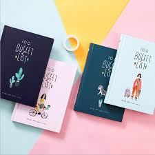 <b>Cute Kawaii</b> Korean <b>Stationery</b> Hand books 100 Bucket TO DO List ...