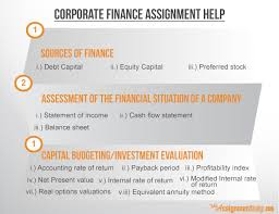 Finance Assignment Help by top experts from UK   Quality Assignment Finance Assignment Help Finance Assignment Help