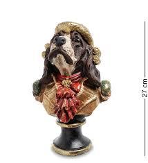 """NS-145 Статуэтка """" Собака Жан-Пьер"""" (полистоун) <b>фигурка</b> ..."""