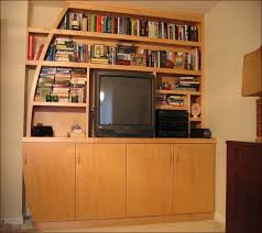 built in bookcase kit bookcase lighting ideas