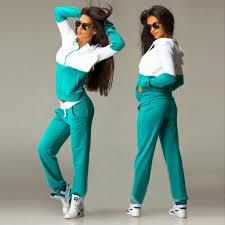 2 piece <b>women's sports suit sexy</b> sportswear jogging <b>sports suit</b> ...