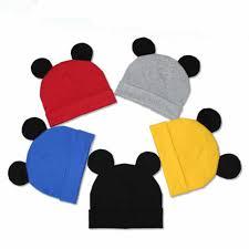 2019 Hot <b>Mickey Ear Hats Children</b> Snapback Caps Baseball Cap ...