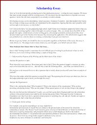 examples scholarship application letters  sendlettersinfo  scholarship essay examples by oprahfan