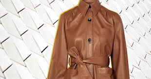 Того стоит: кожаный жакет-<b>рубашка Joseph</b> | Salt