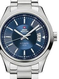 Наручные <b>часы Swiss Military SMA30003</b>.03 Automatik 41mm 10ATM