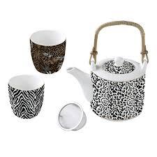 купить <b>Набор</b> чайный <b>ATMOSPHERE</b> SAVANA 3 предмета в ...
