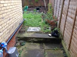 working creating patio: i really enjoyed working on this lovely little garden in south woodford using quality natural stone to create a fantastic and low maintenance patio for