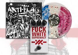 """<b>Anti</b>-<b>Flag</b> raffling """"fuck white supremacy"""" fuzz pedal & LP pressed w ..."""
