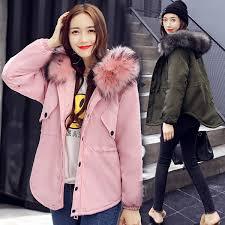 2019 <b>Pinky Is Black Winter Jacket Women</b> 2017 Winter Warm Coat ...