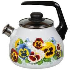 «<b>Чайник</b> эмалированный со свистком <b>3.0 л</b> СтальЭмаль ...