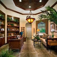 View In Gallery Home Office Relies On Natural Greenery For Color And Freshness Design Deu002639